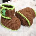 zapatos de bebé ganchillo patrón
