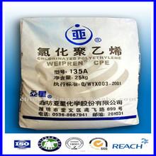 CPE impact modifier pvc impact modifier/chlorinated polyethylene