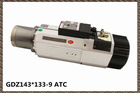 Star/Triangle connect HSD motor electric atc spindle router 9kw ISO40/ISO30