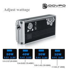 Best selling Dovpo DT-50 w box mod e cigarette sale wholesale manufacturers usa