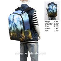 2015 New Design School Backpack Printed Eiffel Tower