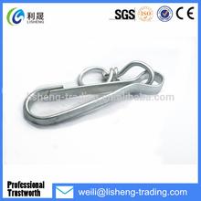 Large Supply Bulk snap hook stainless steel carabiner locking snap hook