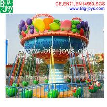 2014 amusement park watermalon fruit rides,flying chair for sale