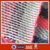Combed cotton fabric for garments fashion terry