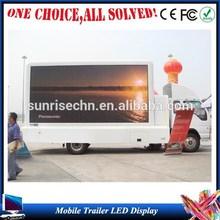 P6,P8,P10,P12,P16 p5 Rental manufacture mobile trailer truck advertising display LED Screen Board