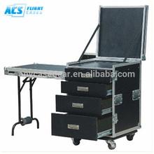 2014 hot selling Plywood Utility flight case /Durable Aluminum dj storage utility box
