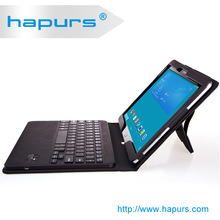hapurs Portfolio leather case for 9 tablet or 10.1 tablet with the best ABS keyboard