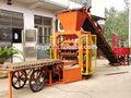 Alibaba expressar! Qt4-30b estacionária tipo de bloco de concreto máquina 1000m