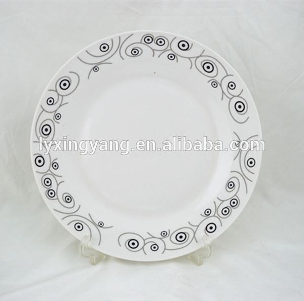 10.5 placa cerâmica jantar, prato de porcelana jantar linyi, baratos pratos de cerâmica placas/feitos de porcelana pratos