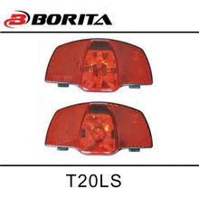 BORITA Dynamo Light 6V2.4W led bulb lights for rear carrier 80mm