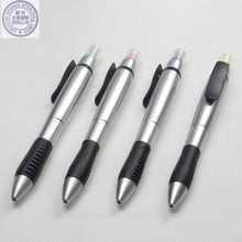 Multi-functional ball pen +highlighter promotional pen