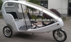 nine speed Motor battery operated taxi trike