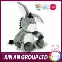 ICTI audit OEM baby toy stuffed wholesale stuffed donkey