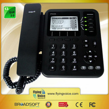 2014 new product IP542N sip desk office phone wifi for skype conference
