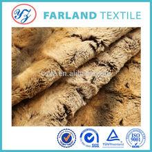 Artificial Fur Fabrics , single sided fabric , polyester man-made fabric