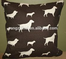 Best Friend dogs cushion, dogs silhouette cushion,dog print cushion