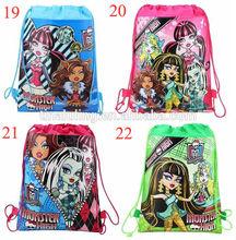 2015 new most popular monster high children school bags high quality beach backpack