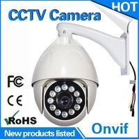 Outdoor 7inch PTZ waterproof high speed analog 700TVL/800TVL/900TVL dome serveillance 180 degree viewing angle cctv camera