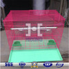square shape powder coated metal bird cage(60*40*40)