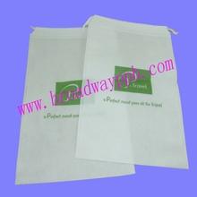 custom design printing non woven drawstring small gift bags