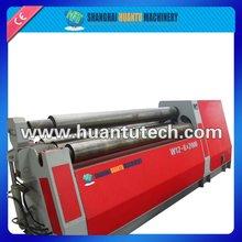 Hydraulic Upper Roller Universal Rolling Machine Iron Sheet Rolling Machine Conical Plate Bending Machine