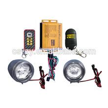 remote control anti-theft alarm mp3 motorcycle fm radio