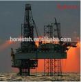 sal de pozos de agua en alta mar de perforación de petróleo