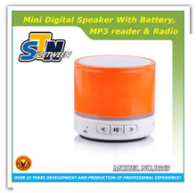 High quality mini multimedia stero subwoofer with mic input