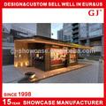 profissional horizontal vitrine de doces china sanduíche aberto de exposição vitrine de padaria e equipamentos