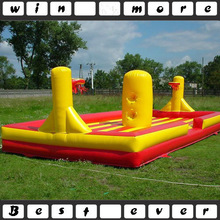 inflatable bungee basketball, inflatable bungee run for sale, air running bungee games