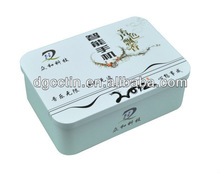 Whole colored tin box decorative tin cans