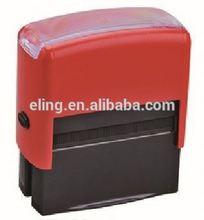 Plástico auto tinta carimbo detentor do selo do flash