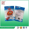 Customized beef jerky packaging bags with window and handle