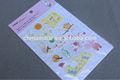 tecido de lona fitas rendas e flores de tecido de impressão da etiqueta