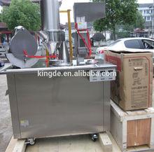 Economic type manual capsule filling machine for making medical