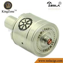 Kingzone Vending Asmodus rda clone !!air hole copper/ss no leak huge vapor Asmodus rda clone atomizer