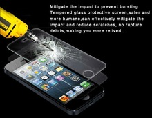 for iphone 4/iphone 4s tempered glass screen protective film with best price & high quality