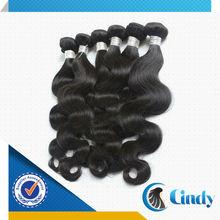 one donor wavy 5a 100% virgin peruvian natural human hair extentions