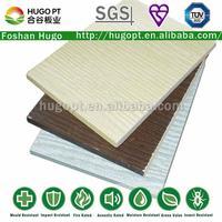 Free asbestos Fireproof Fiberglass Wall Cladding Wood Grain