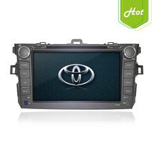 "8"" Touch screen dashboard car DVD player GPS navigation for Toyota Corolla 2006 2007 2008"