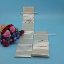 Printing Satin silk bags for hair
