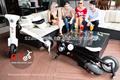 conveniente scooter elettrico pieghevole con brevetto in 30 paesi