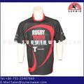 Personalizado para adultos de rugby jersey de fútbol, de las mujeres en forma seca de color rosa camisetas de rugby