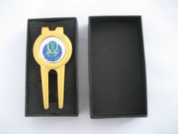 custom golf divot tool/golf club pitch repair tools