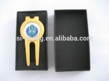 custom golf divot tool/golf club pitch repair tools