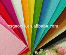 Colorful wool felt for handicfats, needle punch felt, colorful felt