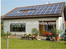 Top Build good performance living solar energy prefab house/home/rural family