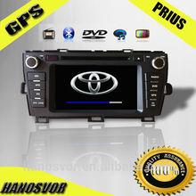 Car video radio dvd player gps navigation for toyota prius