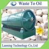 2014 Lanning eco-friendly Multi-safety fuel saving Cracking Waste Tire Oil Pyrolysis Machine
