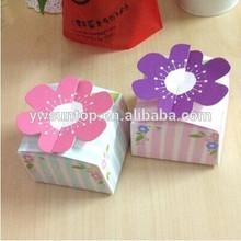 2014 cheap handmade nougat candy box packing